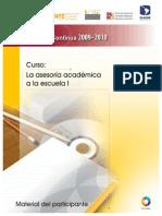 La Asesoría Académica a la Escuela I.pdf