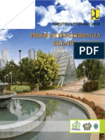 Buku Panduan Program Pengembangan Kota Hijau (P2KH) Tahun 2011