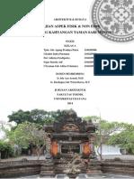 Kajian Fisik & Non Fisik Pura Dang Kahyangan Taman Sari Mengwi
