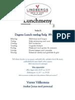 Lunchmeny Vecka 32