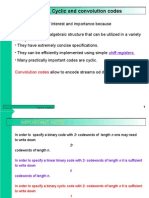 Cyclic Codes Presentation