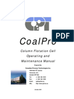 CoalPro Manual (Column Flotation Cell)