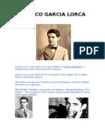 Federico Garcia Lorca Science