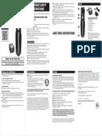 Remington clipper manual PG6015