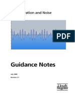 Lloyds Ship Vibration and Noise Guidance Notes