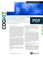 Embracing the Cloud to Make Risk Reporting More Efficient