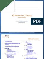Sitecore Training - Content Editors- 9-24
