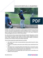 Sports 101 How to Understand the Balk Penalty on a Baseball Match