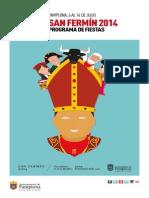 Programa de San Fermín 2014