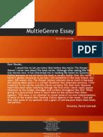 multie genre essay final powerpoint