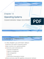 Chapter 14 Operating System