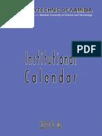 PoN Academic Calendar