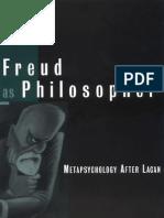 Freud as Philosopher