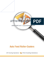 Auto Feed Roller Coaters
