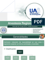 Seminario Anestesia Regional Junio 2014