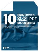 10 Principles of Agile Financial Modelling