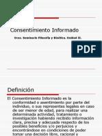 Cosentiminento Informado UCES