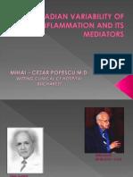 Circadian Variability of Inflammation and Its Mediators 2