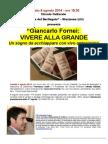 Giancarlo Fornei a Stazzema - Conferenza/intervista presso Circolo Culturale Il Berlingaio - 9 Agosto 2014