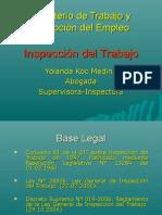 INSPECCION DEL TRABAJO