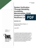System Verification Through RAM - 5094551