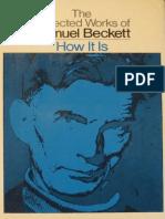 Beckett, Samuel - How It is (Grove, 1964)