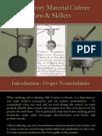 Food Preparation - Skillets, Posnets & Pans