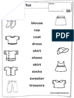 ClothesPT1 Activity