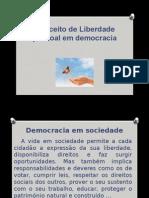 2. Conceito de Liberdade Pessoal Em Democracia