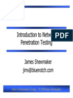 Introduction to Network Penetration Testing