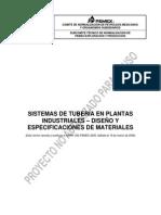Sistemas de Tubería en Plantas Industriales – Diseño y Especificaciones de Materiales