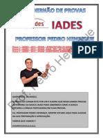 1º Cadernão de Provas Banca Iades