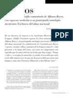 Alfonso Reyes Bibliografía