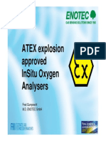 Atex Approved Oxygen Analyzer
