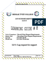 learing guide 1
