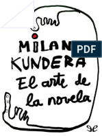 El Arte de La Novela de Milan Kundera