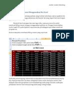 Billing Warnet Menggunakan Excel