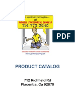 Mobile Janitorial Supply | Product Catalog