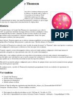 Modelo Atômico de Thomson – Wikipédia, A Enciclopédia Livre