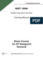 Scada108-00 8 GOT1000 Basic Training Course (GT Designer 2) SH(NA)-080632-A (03.06)