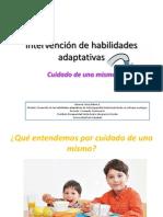 Intervención de Habilidades Adaptativas