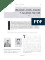 Krishnaveni Institutional Capacity Building 13