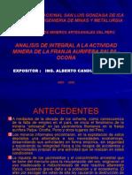 Analisis Actividad Minera Palpa Ocoña