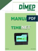 Manual TimeNET Rev 00