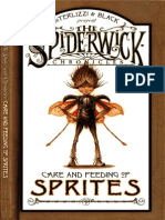 The Spiderwick Chronicles - Care and Feeding of Sprites