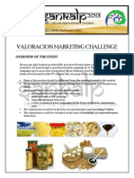 Valoracion Marketing Challenge