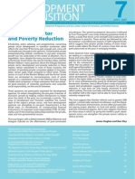 Private sector and poverty reduction