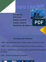 Estructura Nuclear 2012