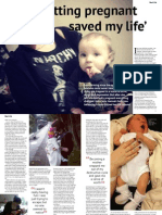 Getting Pregnant Saved My Life