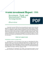 UN World Investment Report Overview